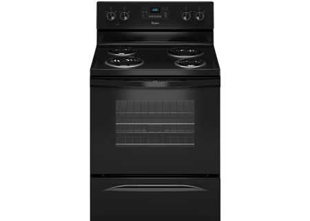 Whirlpool Black Freestanding Electric Range - WFC310S0AB