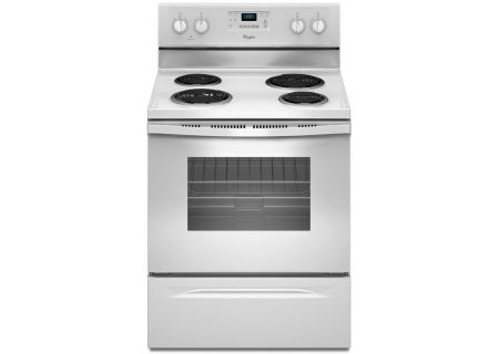 "Whirlpool 30"" White Freestanding Electric Range - WFC310S0EW"