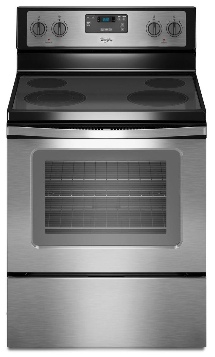 Electric Stoves Ranges ~ Whirlpool quot freestanding electric range wfe m es