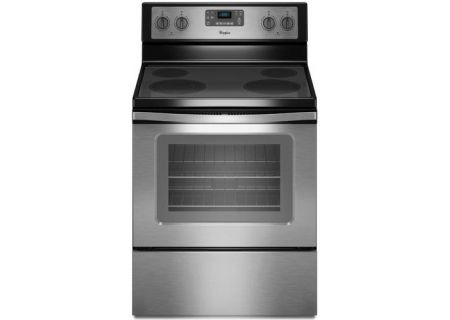 Whirlpool Stainless Steel 5.3 Cu. Ft. Freestanding Electric Range - WFE515S0ES