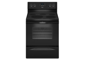 Whirlpool - WFE525C0BB - Free Standing Electric Ranges
