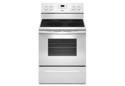 Whirlpool - WFE525C0BW - Electric Ranges