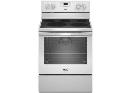 Whirlpool White Freestanding Electric Range - WFE540H0EW