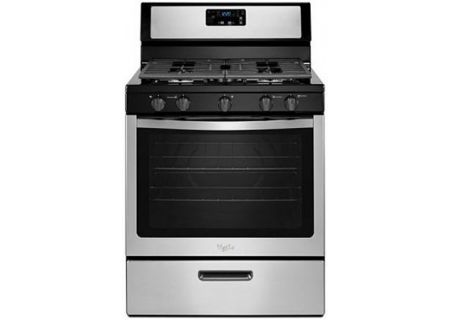 Whirlpool Stainless Freestanding Gas Range - WFG505M0BS
