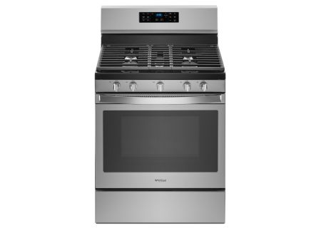 "Whirlpool 30"" Stainless Steel Freestanding Gas Range - WFG550S0HZ"