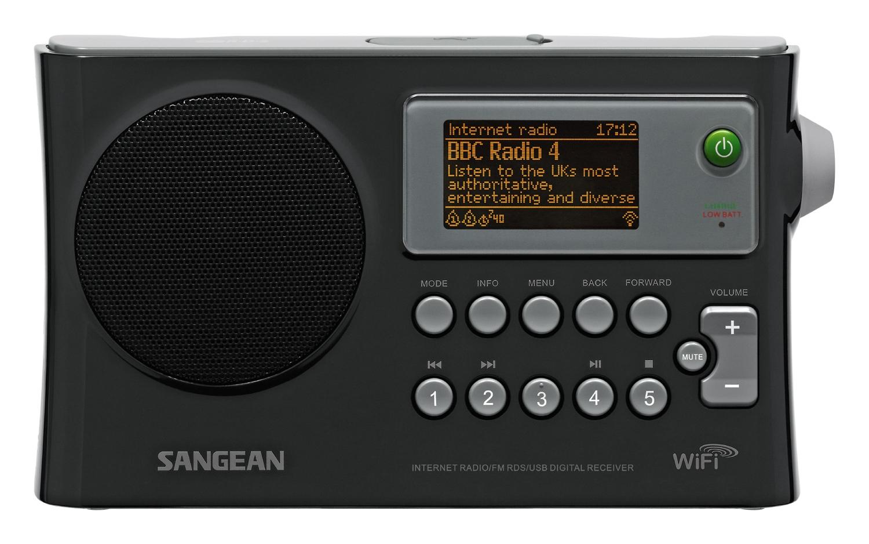 Sangean Compact Portable Wi Fi Internet Radio Wfr 28