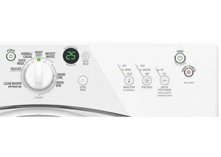 Whirlpool Duet Sport Front Loading White Washer White