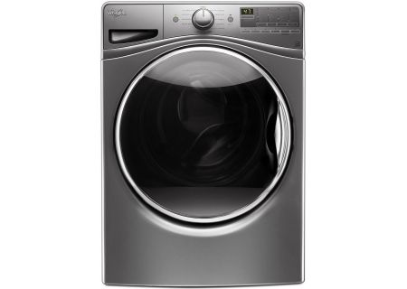 Whirlpool Chrome Shadow Steam Front Load Washer - WFW85HEFC