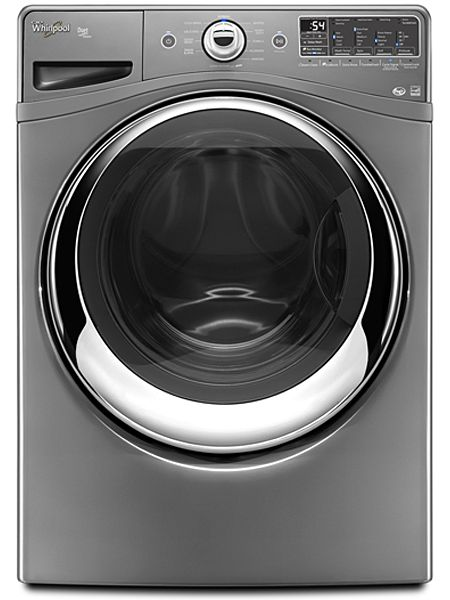 Whirlpool Duet Chrome Shadow Steam Front Load Washer