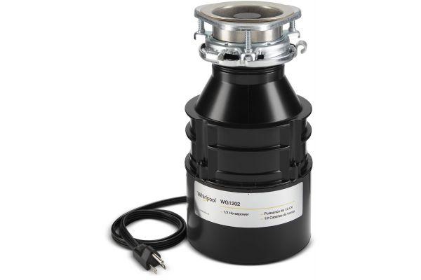 Whirlpool Black 1/2 HP In-Sink Garbage Disposal - WG1202PH