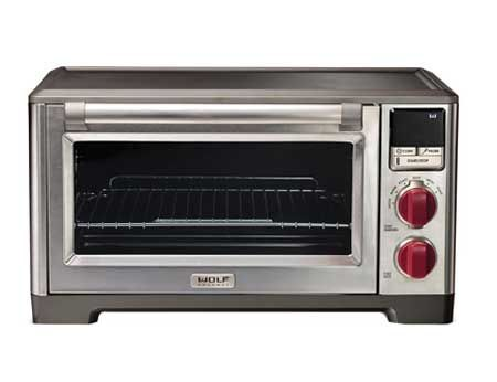 Wolf gourmet convection countertop oven wgco100s for Wolf toaster oven