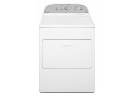 Whirlpool 7.0 Cu. Ft. White Gas Dryer - WGD49STBW
