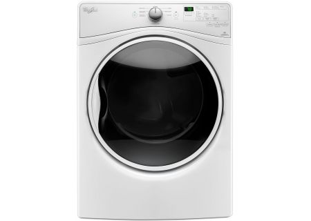 Whirlpool White Steam Gas Dryer - WGD85HEFW