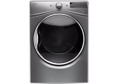 Whirlpool Chrome Shadow Electric Steam Dryer - WED90HEFC