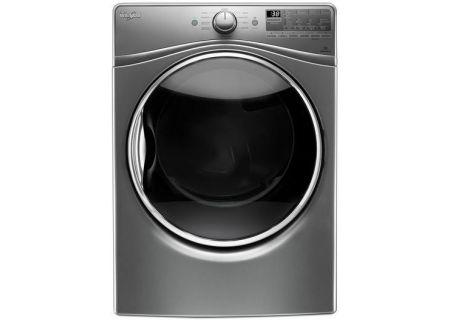 Whirlpool 7.4 Cu. Ft. Chrome Shadow Gas Dryer - WGD92HEFC