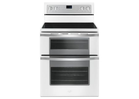 Whirlpool 6.7 Cu. Ft. White Electric Double Oven Range  - WGE745C0FH