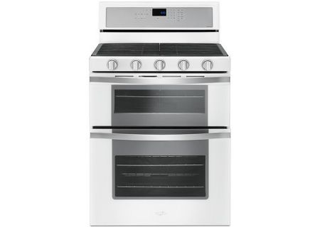 Whirlpool White Double Oven Gas Range - WGG745S0FH