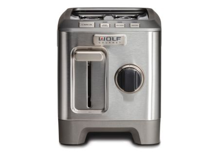 Wolf Gourmet Stainless Steel 2 Slice Toaster  - WGTR112S