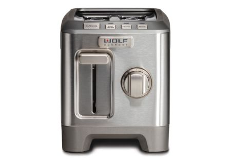 Wolf Gourmet Stainless Steel 2 Slice Toaster  - WGTR122S