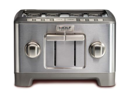 Wolf Gourmet Stainless Steel 4 Slice Toaster  - WGTR124S