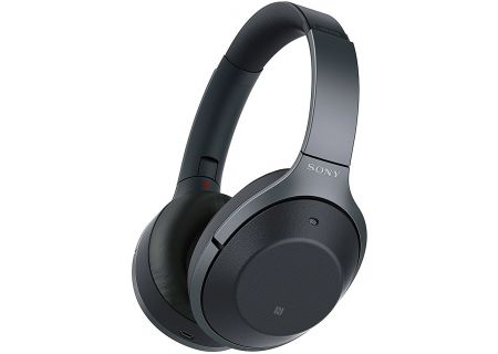 Sony Black On-Ear Wireless Noise-Canceling Headphones With Google Assistant - WH-1000XM2/B