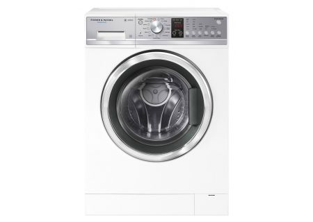 Fisher & Paykel 2.4 Cu. Ft. White WashSmart Front Load Washer - WH2424P1