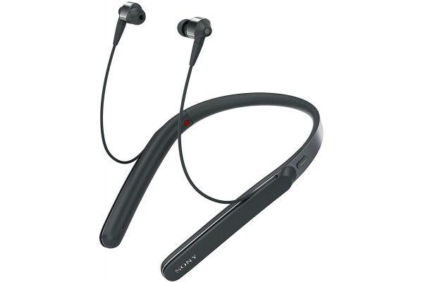Sony Around-Neck Black In-Ear Wireless Noise-Canceling Headphones - WI-1000X/B