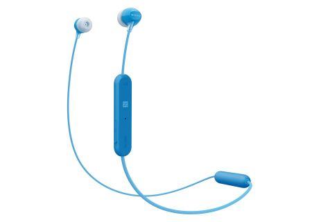 Sony Blue Wireless In-Ear Headphones - WIC300/L