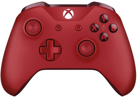 Microsoft Xbox One Red Wireless Controller - WL3-00027