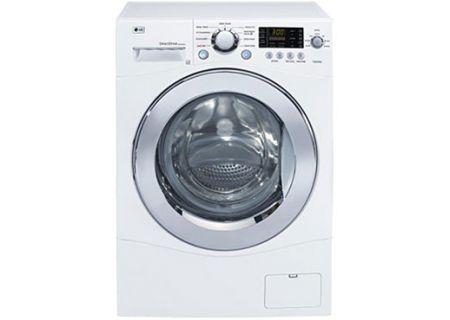 LG - WM1355HW - Front Load Washing Machines