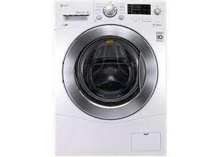 LG - WM1377HW - Front Load Washing Machines