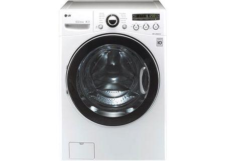 LG - WM3150HWC - Front Load Washing Machines