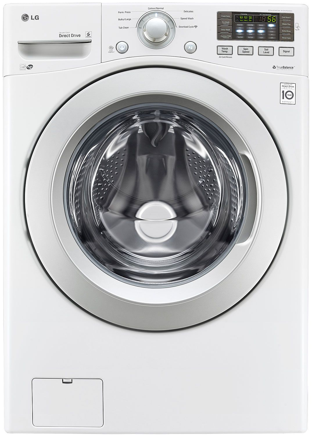 Lg White Front Load Washer Wm3170cw Abt