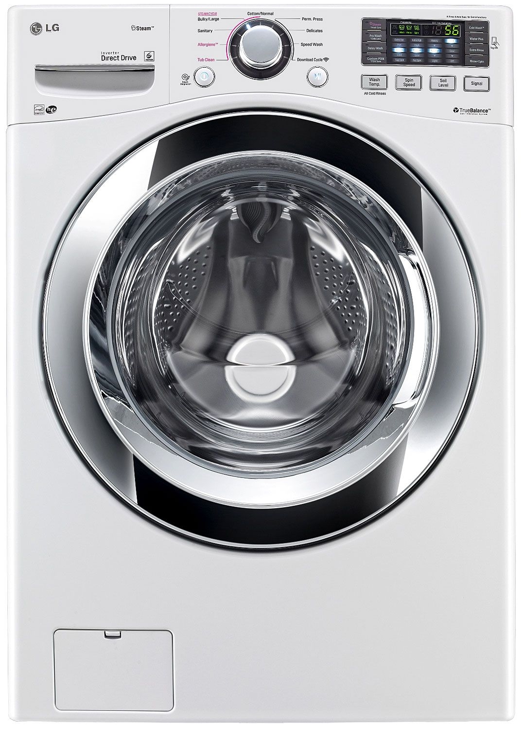 Lg Ultra Capacity Front Load Steam Washer Wm3370hwa