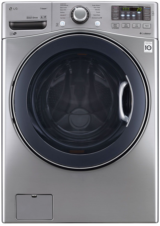 LG Large Capacity Front Load Steam Washer  WM3570HVA #595C47