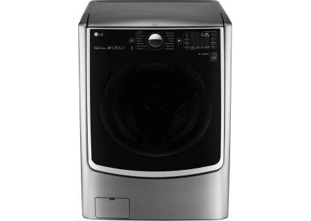 LG Graphite Steel Front Load Steam Washer - WM5000HVA