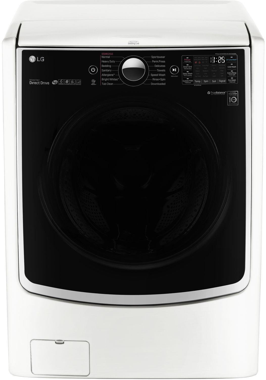 Lg White Front Load Steam Washer Wm5000hwa