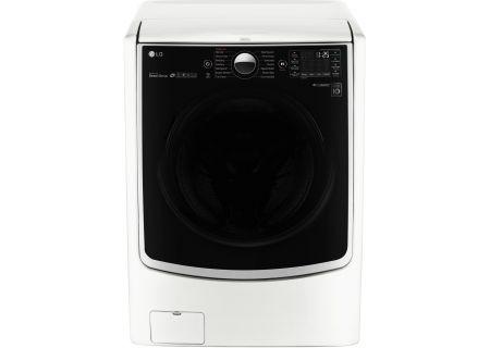 LG White Front Load Steam Washer - WM5000HWA