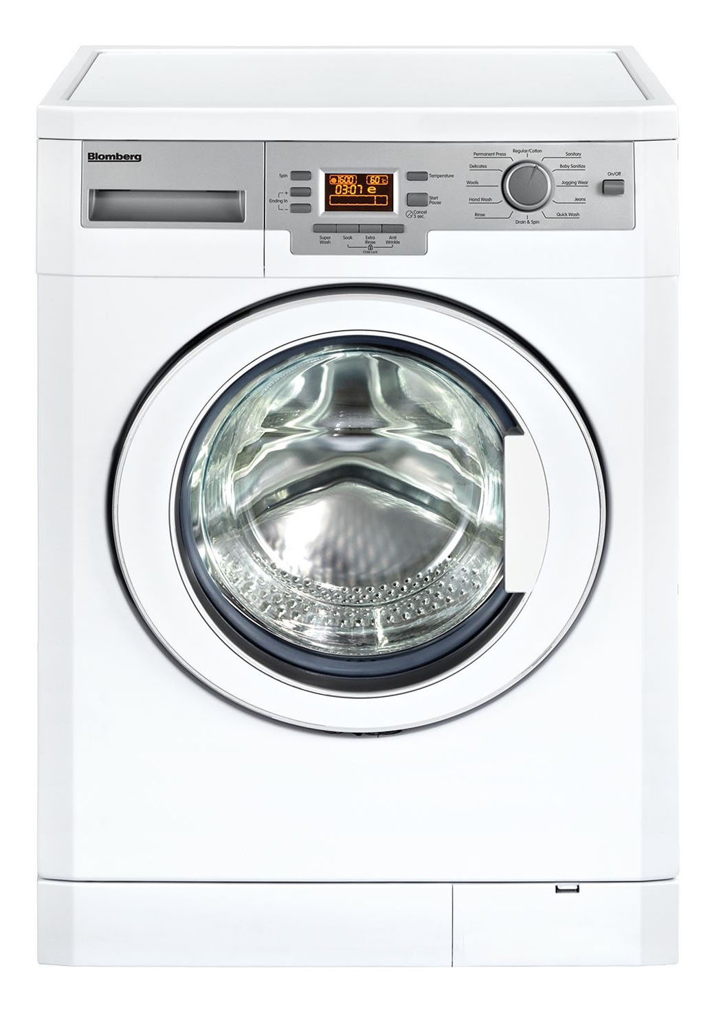 Blomberg 24 Quot White Front Loading Compact Washer Wm77120