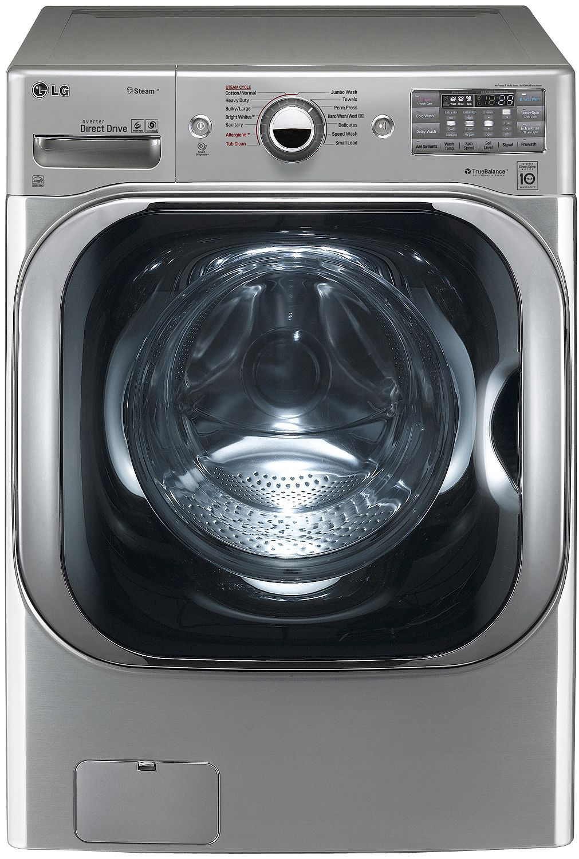 LG Graphite Steel Front Load Steam Washer - WM8100HVA