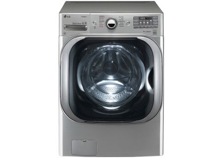 LG Graphite Steel Front Load Steam Washer - WM8100HVA