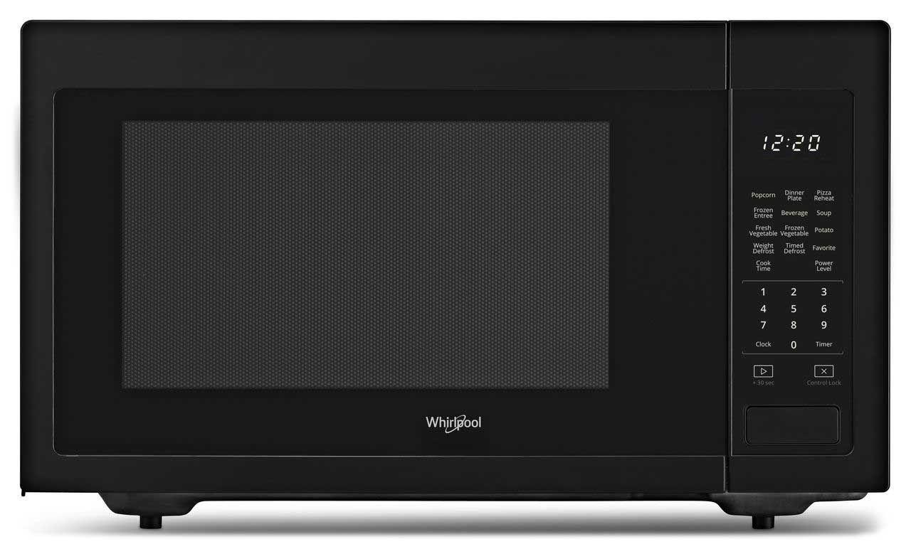 Whirlpool 1 6 Cu Ft Countertop Microwave Wmc30516hb