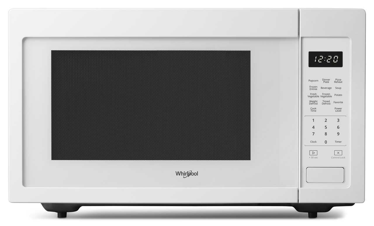 Whirlpool Wmc30516hw Built In Microwaves With Trim Kit