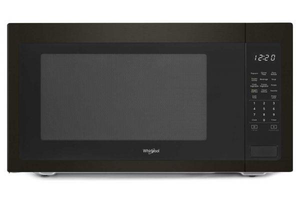 Large image of Whirlpool 2.2 Cu. Ft. Black Stainless Steel Countertop Microwave - WMC50522HV
