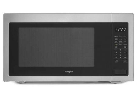 Whirlpool 2.2 Cu. Ft. Fingerprint-Resistance Stainless Steel Countertop Microwave  - WMC50522HZ
