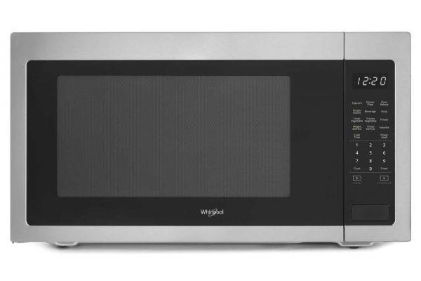 Large image of Whirlpool 2.2 Cu. Ft. Fingerprint-Resistance Stainless Steel Countertop Microwave - WMC50522HZ