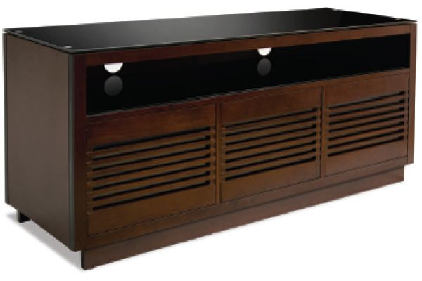 BellO Chocolate A/V Wood TV Cabinet - WMFC602