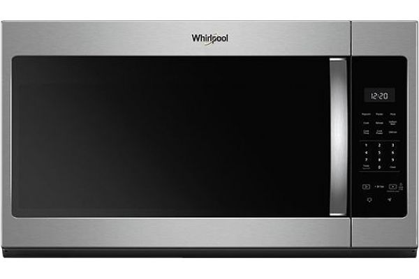 Whirlpool Stainless Steel Over-The-Range Microwave Hood Combination - WMH31017HS
