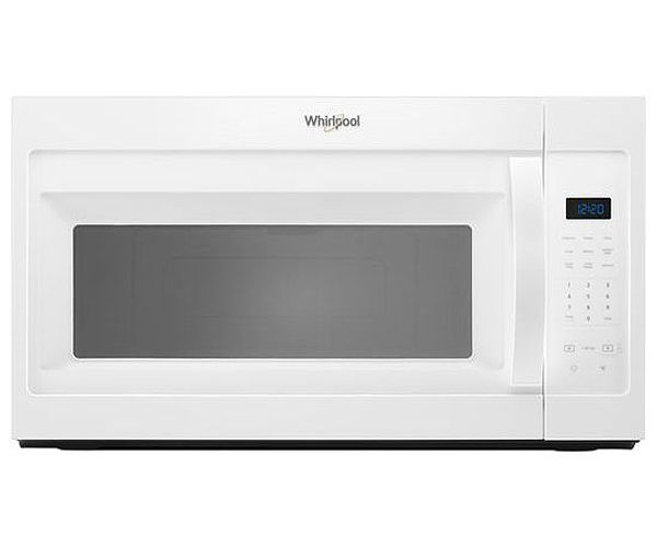 White Over The Range Microwave