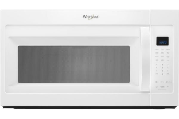 Whirlpool White Over-The-Range Microwave Hood Combination - WMH32519HW